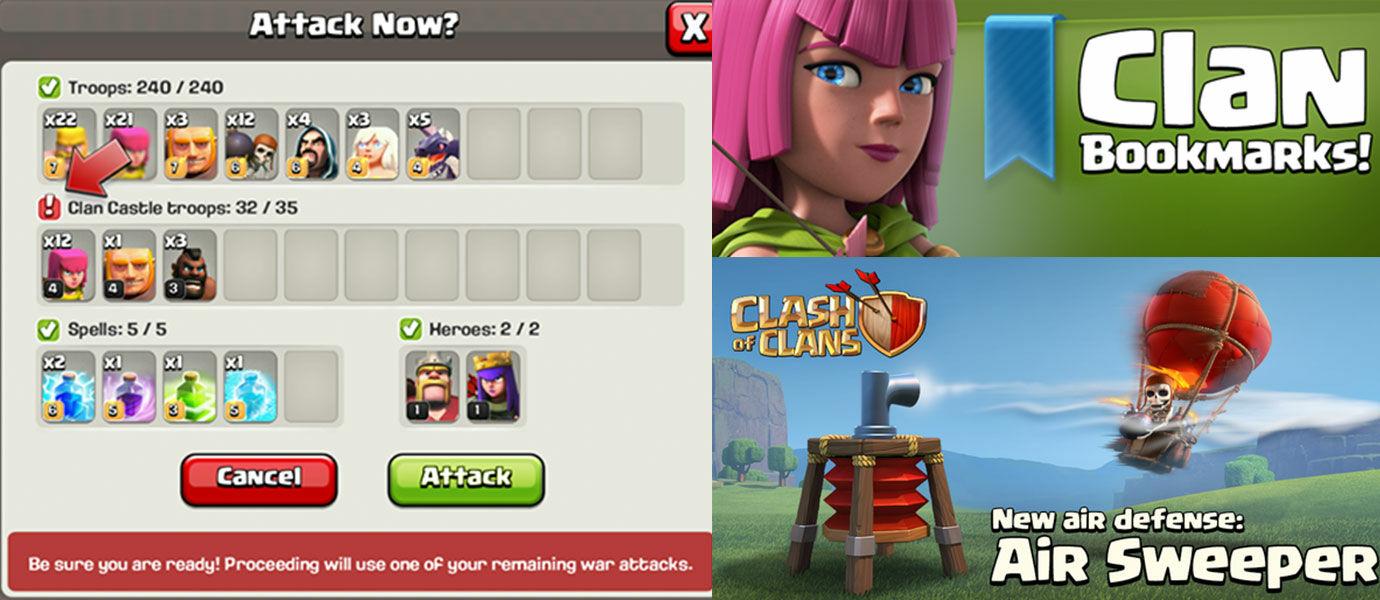 Fitur Terbaru dan Link Download Clash of Clans Versi 7.65 Terbaru