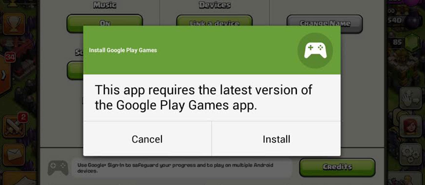 Cara Mengatasi Masalah Error Google Play Games di Clash of Clans
