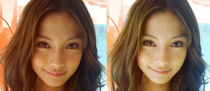 2 Cara Mudah Memutihkan Wajah di Foto
