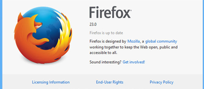 Fitur Baru Firefox 23.0