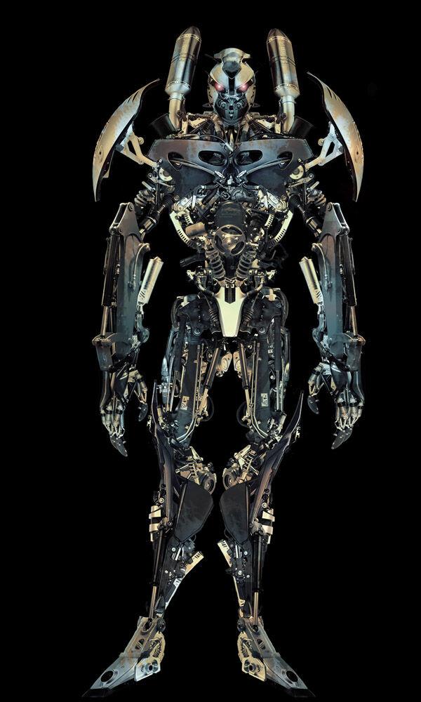 Karya Seni Robot 3