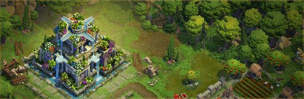 Tips Dominations Memilih Wonders Yang Cocok Untuk Bronze Age Hanging Garden