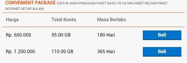 daftar paket internet 4G paling murah bolt 3