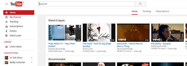 Cara Mengubah Tampilan Youtube 2