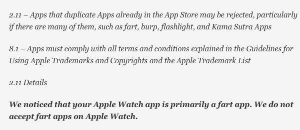 Apple Watch Fart