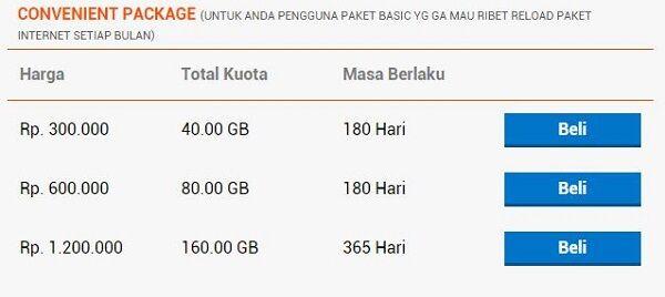 daftar paket internet 4G paling murah bolt 6