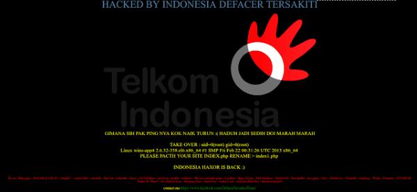 Foto Linuxsec Telkomhack