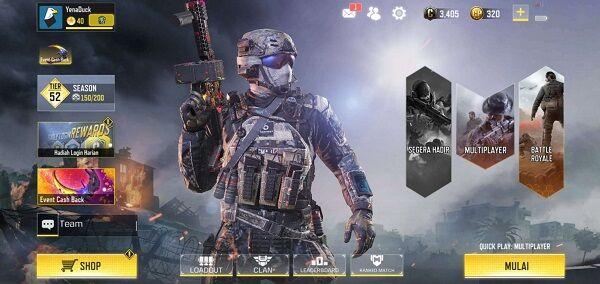 Cara Naik Level Cod Mobile 2 81680