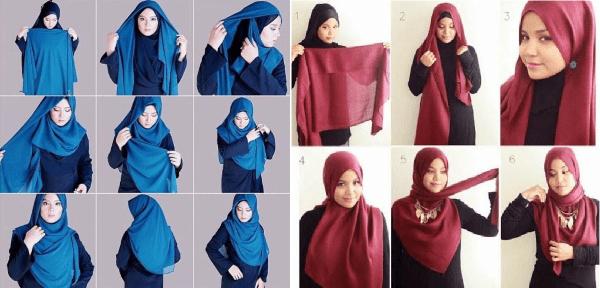Tutorial Hijab Syari 2 23e8f