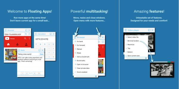 Floating Apps Free Multitasking 1