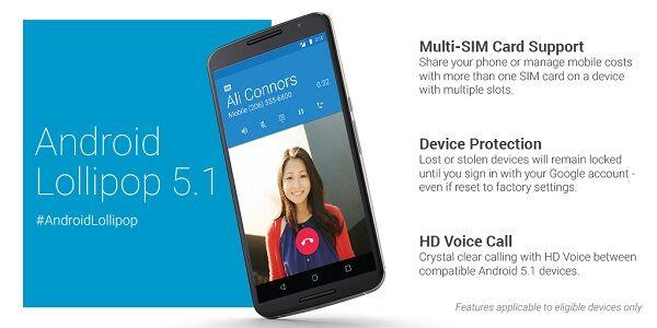 Fitur Fitur Baru Android 51 Lollipop 1