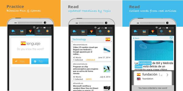 Lingualy Aplikasi Belajar Bahasa Inggris 1