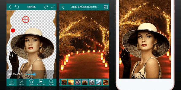 Cara Ganti Background Foto Otomatis Android