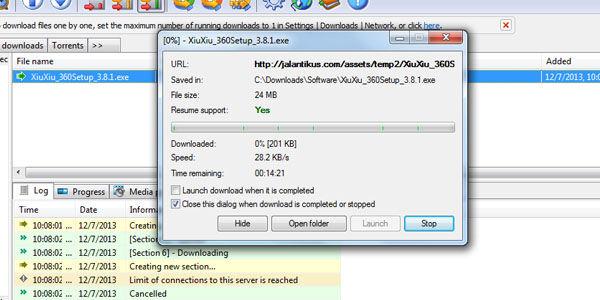 Cara Download Cepat Menggunakan FDM 4
