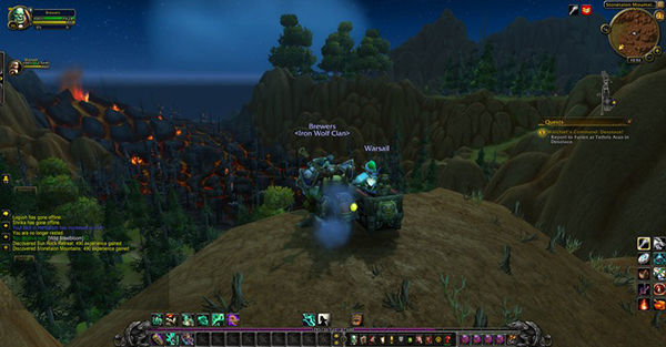 World Of Warcraft Volcano 1 287e0