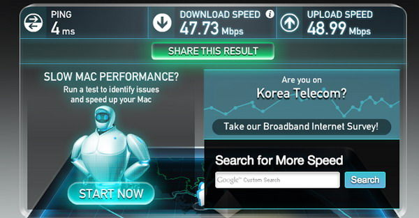 Ini Dia 10 Besar Negara Dengan Internet Tercepat 1