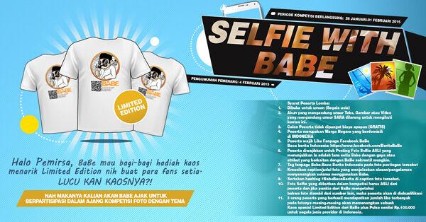 Facebook Selfie Contest