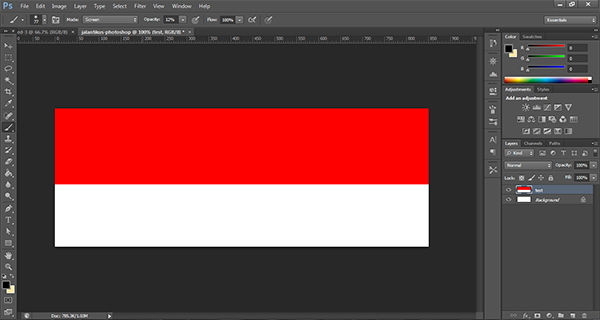 Cara Membuat Gambar Bendera 3D Di Photoshop 3