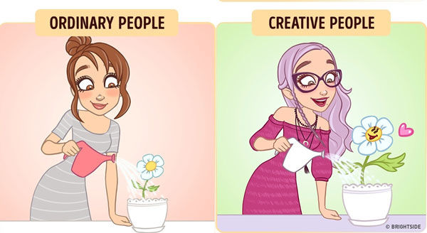 Perbedaan Orang Kreatif Dan Biasa 2
