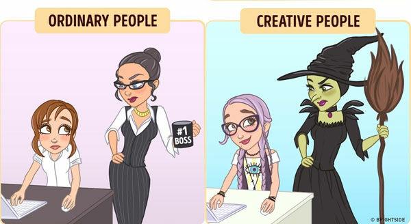 Perbedaan Orang Kreatif Dan Biasa 6