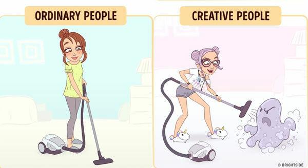 Perbedaan Orang Kreatif Dan Biasa 9