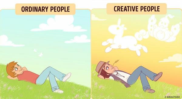 Perbedaan Orang Kreatif Dan Biasa