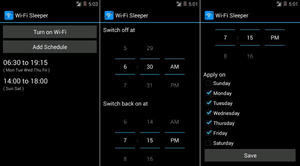 Wi Fi Sleeper Automatic Turn Off Wifi 1