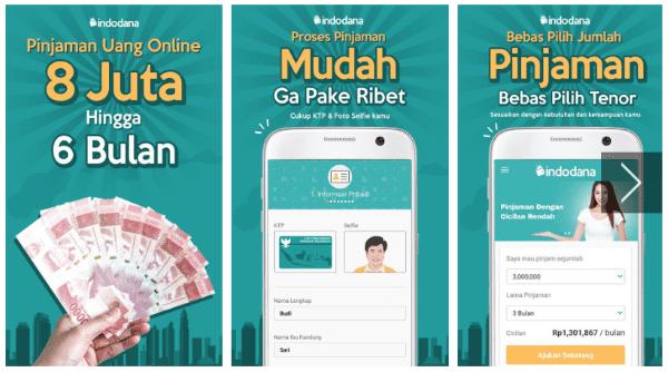11 Indodana Pinjaman Uang Online Kta Tanpa Jaminan A197c