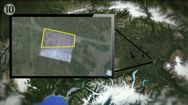 10 Tempat Yang Disembunyikan Google Earth 10