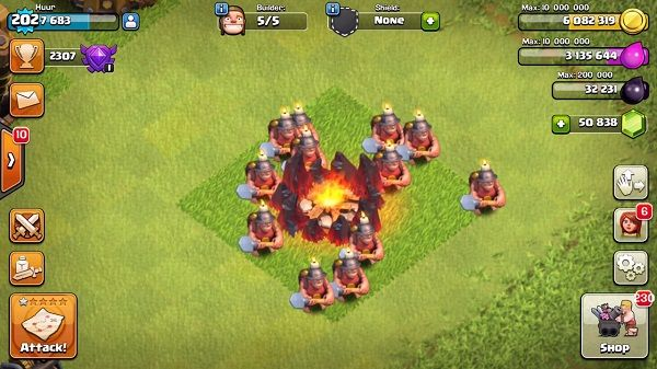 Pasukan Baru Coc Miner 1
