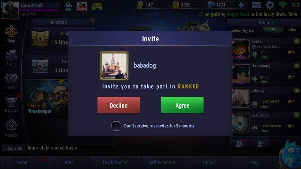 Cheat Mobile Legends Naik Level 7