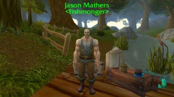 Jason Mather si Penjual Ikan