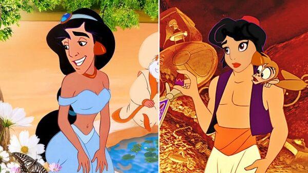 Disney Saat Melakukan Face Swap 6