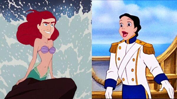 Disney Saat Melakukan Face Swap 7