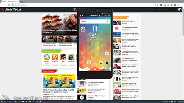 Cara Mengendalikan Smartphone Android Dari Komputer 11