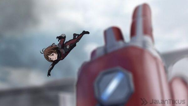 Karakter Anime Berperan Civil War 3