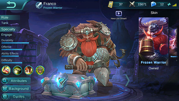 Franco Mobile Legends 1