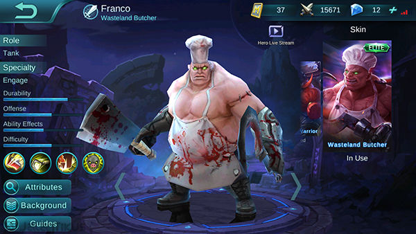 Franco Mobile Legends 2