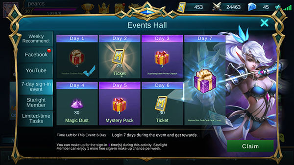 Skin Gratis Mobile Legends 2