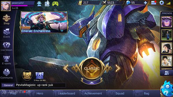 Advance Server Mobile Legends 3