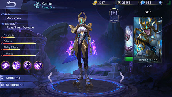 Karrie Mobile Legends 2
