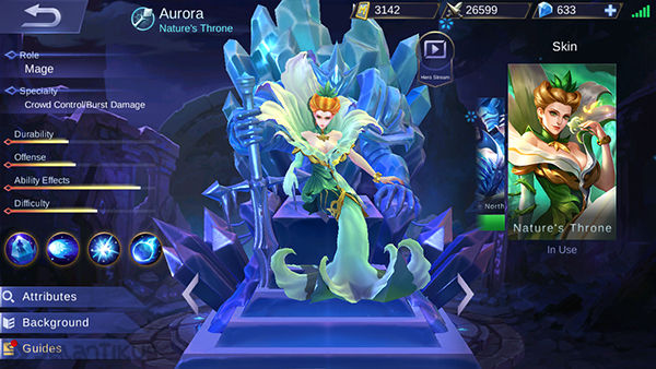 Aurora Mobile Legends 3