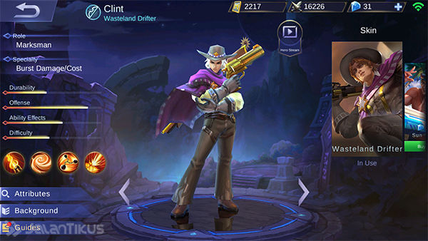 Guide Clint Mobile Legends 1