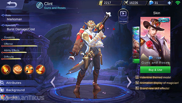 Guide Clint Mobile Legends 3