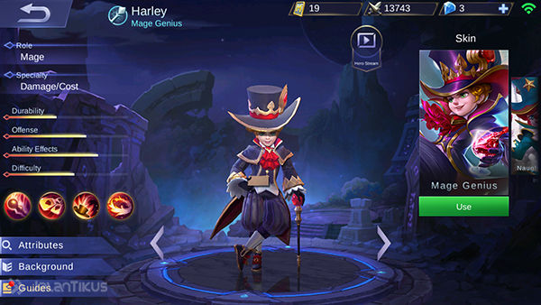 Guide Harley Mobile Legends 3