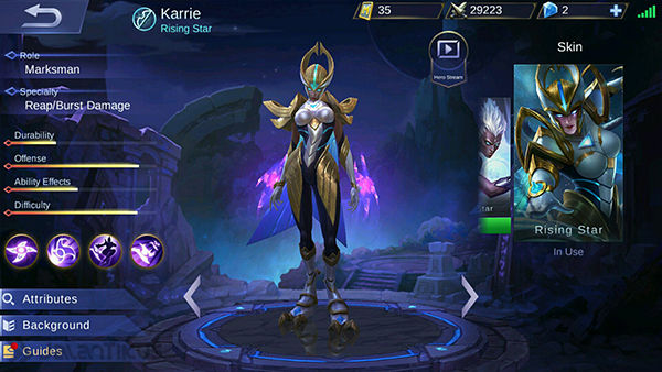Hero Marksman Mobile Legends 1