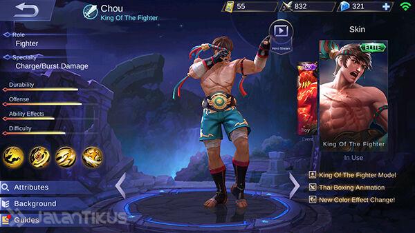 Guide Chou Mobile Legends 1