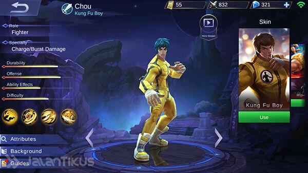 Guide Chou Mobile Legends 2