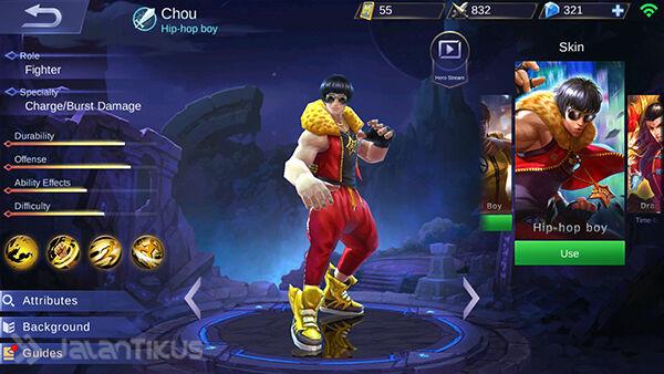 Guide Chou Mobile Legends 3