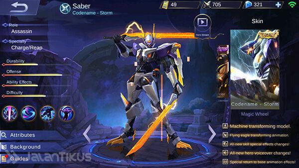 Hero Assassin Mobile Legends 4